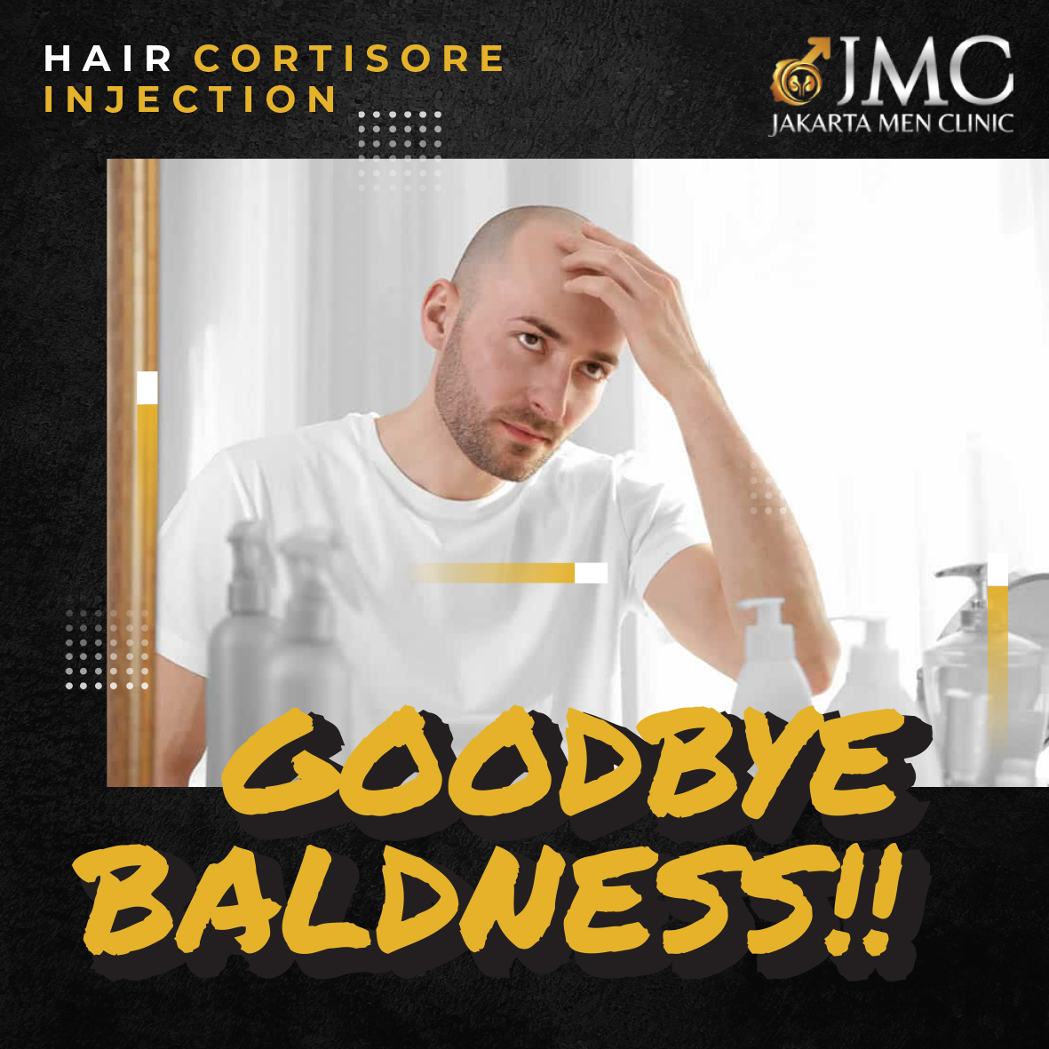 HAIR CORTISORE INJECTION